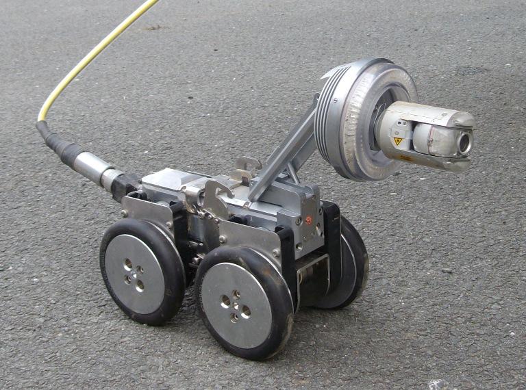 chariot / caméra d'inspection de canalisation
